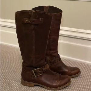 New! Timberland Brown Boots with Buckle